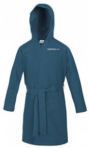 Speedo Bathrobe Microfiber Navy