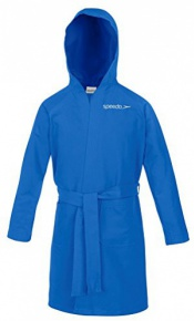 Speedo Bathrobe Microfiber Junior Blue