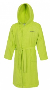 Speedo Bathrobe Microterry Apple Green