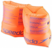 Speedo Roll Up Armbands Orange