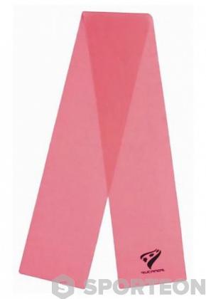 Тренировъчен ластик Rucanor розов 0,35мм