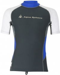 Aqua Sphere Blaze Rash Guard Dark Grey/White