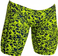 Funky Trunks Coral Gold Training Jammer