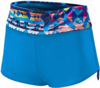 Tyr Women's Boca Chica Active Mini Boyshort Blue