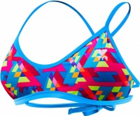 Tyr Le Reve Mojave Tieback Top Pink/Turquoise