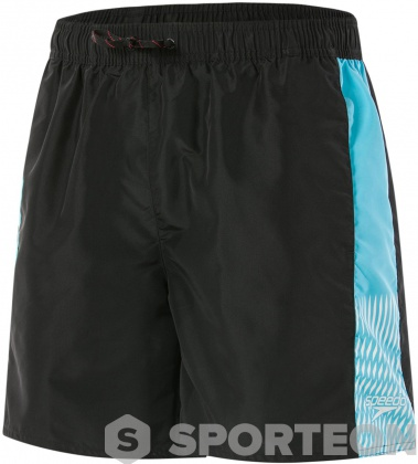 Speedo Sport Vibe 16 Watershort Black/Aqua Splash