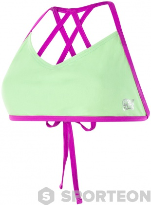 Speedo Neon Freestyler Top Bright Zest/Neon Orchid