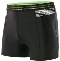 Speedo Reflect Wave Sport Short Black/Bright Zest/White