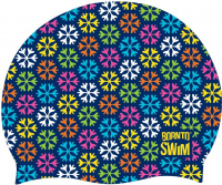 BornToSwim Winter and Holiday Swimming Cap