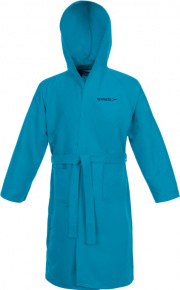 Speedo Bathrobe Microfiber Blue Turquoise