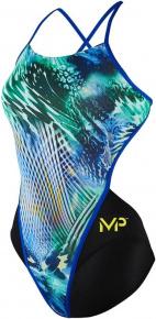 Michael Phelps Vital Open Back Multicolor/Black