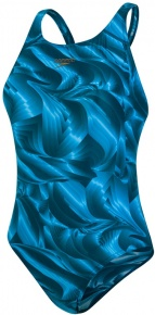Speedo ColourTone Allover Powerback Nordic Teal/Powder Blue
