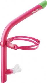 Plavecký šnorchl TYR Ultralight Snorkel Pink