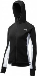 Tyr Female Victory Warm-Up Jacket Black/White