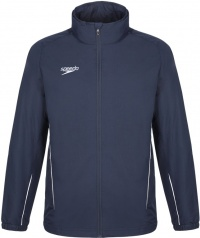 Speedo Rain Jacket Black Navy