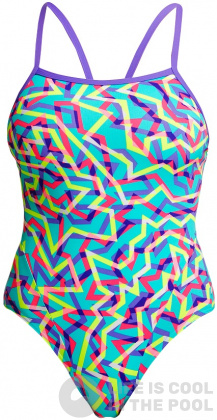 Funkita Mint Strips Single Strap One Piece