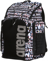 Arena Team Backpack 45 Allover Neon Glitch
