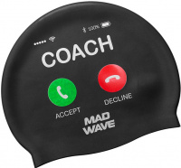 Mad Wave Coach Swim Cap