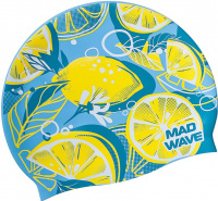 Mad Wave Lime Swim Cap