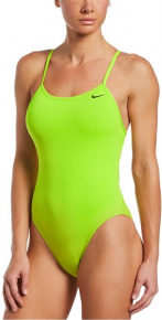 Nike Hydrastrong Solid Fastback One Piece Cyber