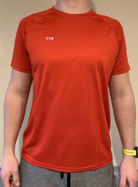 Tyr Tech T-Shirt Red